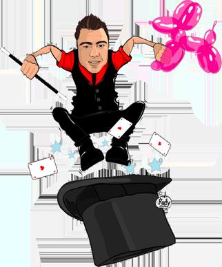 Vince le magicien